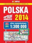 Atlas samochodowy Polska 1:300 000 na spirali. Auto nawigator 2014 w sklepie internetowym Booknet.net.pl