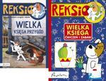 Pakiet. Reksio. Wielka księga przygód + Wielka księga ćwiczeń i zabaw w sklepie internetowym Booknet.net.pl