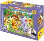 Puzzle dwustronne maxi Kubuś i Hefalumpy 108 w sklepie internetowym Booknet.net.pl