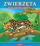 Zwierzęta łaciate pręgowane cętkowane Naklejanki w sklepie internetowym Booknet.net.pl