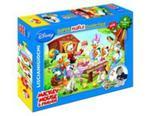 Puzzle dwustronne maxi Myszka Miki i przyjaciele 108 + mazaki w sklepie internetowym Booknet.net.pl
