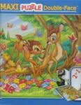 Puzzle dwustronne 2w1 Maxi 108 Bambi w sklepie internetowym Booknet.net.pl