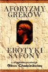 Aforyzmy Greków Erotyki Safony w sklepie internetowym Booknet.net.pl