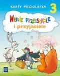 Wesołe przedszkole i przyjaciele. Karty pięciolatka 3 w sklepie internetowym Booknet.net.pl