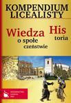 Kompendium licealisty Historia Wiedza o społeczeństwie w sklepie internetowym Booknet.net.pl