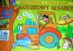 Malowanie z naklejkami. Kolorowy alfabet w sklepie internetowym Booknet.net.pl