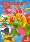 Dinozaury. Kolorowanka z naklejkami w sklepie internetowym Booknet.net.pl