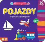 Pojazdy. Maluszkowy świat. Kolorowanka z naklejkami w sklepie internetowym Booknet.net.pl