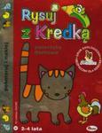 Rysuj z Kredką 1 Zwierzęta domowe w sklepie internetowym Booknet.net.pl