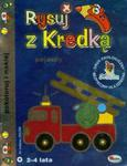 Rysuj z Kredką 4 Pojazdy w sklepie internetowym Booknet.net.pl