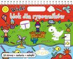 Wielki blok dla rysowników z rączką w sklepie internetowym Booknet.net.pl