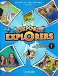 Oxford Explorers 1. Szkoła podstawowa. Język angielski. Podręcznik (+CD) w sklepie internetowym Booknet.net.pl