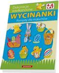 Wycinanki. Dekoracje wielkanocne. Pomysły dla maluchów w sklepie internetowym Booknet.net.pl