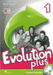 Evolution plus 1. Klasa 4-6, szkoła podstawowa. Język angielski. Zeszyt ćwiczeń + CD w sklepie internetowym Booknet.net.pl