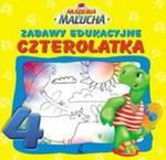 Akademia malucha. Zabawy edukacyjne czterolatka w sklepie internetowym Booknet.net.pl