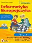 Informatyka Europejczyka Podręcznik 4-6 z płytą CD w sklepie internetowym Booknet.net.pl