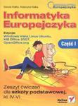 Informatyka Europejczyka 4-6 Zeszyt ćwiczeń Część 1 w sklepie internetowym Booknet.net.pl