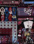 Naklejki Monster High 270 w sklepie internetowym Booknet.net.pl