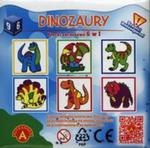 Dinozaury Klocki obrazkowe 6 w 1 w sklepie internetowym Booknet.net.pl