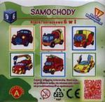 Samochody klocki obrazkowe 6 w 1 w sklepie internetowym Booknet.net.pl