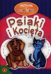 Przygoda z kolorowanką Psiaki i kocięta w sklepie internetowym Booknet.net.pl