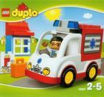 Lego Duplo Karetka w sklepie internetowym Booknet.net.pl
