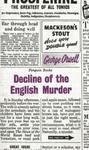 Decline of the English Murder w sklepie internetowym Booknet.net.pl