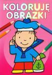 Koloruję obrazki Kolorowanka w sklepie internetowym Booknet.net.pl