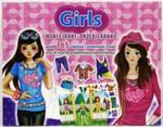 Girls Wyklejanki przebieranki w sklepie internetowym Booknet.net.pl