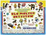 Skarbiec z naklejkami i historyjkami dla małych artystów w sklepie internetowym Booknet.net.pl