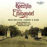 KOECHLIN / EMMANUEL: MUSIC FOR FLUTE AND PIANO w sklepie internetowym Booknet.net.pl
