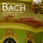 C. P. E. BACH: RECORDER CONCERTOS AND CHAMBER MUSIC w sklepie internetowym Booknet.net.pl