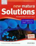 New Matura Solutions Pre-Intermediate Student's Book 2w1 + Get ready for Matura 2015 w sklepie internetowym Booknet.net.pl