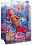 Barbie Perłowa Księżniczka Mała syrenka ze zwierzątkiem w sklepie internetowym Booknet.net.pl