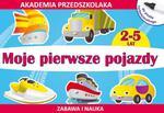 Moje pierwsze pojazdy. Rysujemy po śladzie. Akademia przedszkolaka w sklepie internetowym Booknet.net.pl