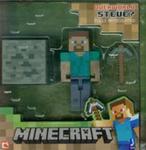 Minecraft Figurka Steve + akcesoria w sklepie internetowym Booknet.net.pl