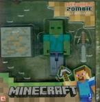 Minecraft Figurka Zombie + akcesoria w sklepie internetowym Booknet.net.pl