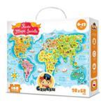 CzuCzu Puzzle Mapa świata w sklepie internetowym Booknet.net.pl
