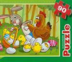Puzzle 90 Wielkanoc w sklepie internetowym Booknet.net.pl