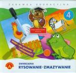 Rysowanie-zmazywanie 4 Zwierzątka w sklepie internetowym Booknet.net.pl