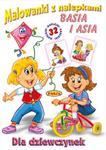 Malowanki z nalepkami Dziewczynki Basia i Asia w sklepie internetowym Booknet.net.pl