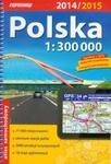 Polska atlas samochodowy 1:300 000 w sklepie internetowym Booknet.net.pl
