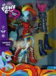 My Little Pony Equestria Girls Lalka z akcesoriami Rainbow Dash w sklepie internetowym Booknet.net.pl