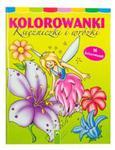 Kolorowanki Księżniczki i wróżki w sklepie internetowym Booknet.net.pl