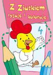 Z Ziutkiem rysuję i koloruję 4 w sklepie internetowym Booknet.net.pl