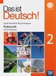 Das ist Deutsch! 2 Podręcznik z płytą CD w sklepie internetowym Booknet.net.pl
