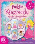 Piękne księżniczki. Książka z łamigłówkami. Ponad 100 naklejek! 6 naklejek 3D w sklepie internetowym Booknet.net.pl