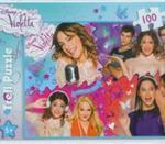 Puzzle 100 Disney Violetta Zakręcony świat Violetty w sklepie internetowym Booknet.net.pl