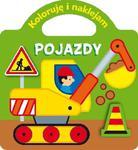 Pojazdy. Koloruję i naklejam w sklepie internetowym Booknet.net.pl