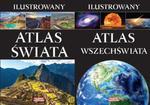 Ilustrowany Atlas Świata i Ilustrowany Atlas Wszechświata w sklepie internetowym Booknet.net.pl